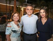 Ana Studart, Josmario Cordeiro e Patricia Studart
