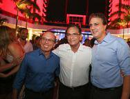 Andre Montenegro, Beto Studart e Camilo Santana