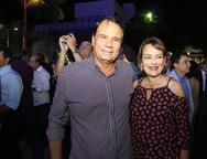 Arnold e Claudia Studart