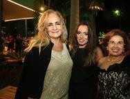 Claudia Sorya, Rosa Fernandes e Bernadete Espindola