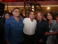 Jose Guedes, Beto Studart e Marcos e Andrea Novaes