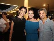 Karla Marques, Renata Santos e Igor Gondin
