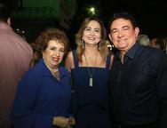 Leda Maria, Fatima e Fernando Santana