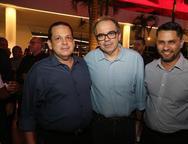 Marcus Lage, Joao Dummar Neto e Alexandre Medina
