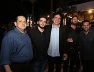 Marcus Lage, Joao Victor e Breno Melo, Erinaldo Diniz e Clovis Holanda