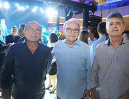 Marcos Montenegro, Ednilton Soarez e Gustavo Carvalho