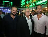 Patriolino Dias, Helio Galiza e Deda Studart