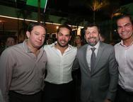 Paulo e Claudio Vale, Elcio Batista e Candido Pinheiro
