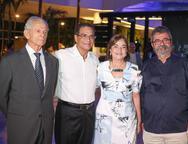 Ricardo Singer, Beto e Ana Studart e Amaro Sales