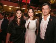 Sarah, Joyce e Cid Marcone
