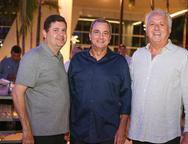 Sergio Amora, Kalil Otoch e Jose Moraes