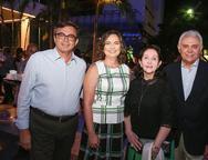 Woshington Bezerra, Renata Santiago, Marluce e Antonio Gentil