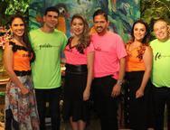 Thiago e Claudia Belo e Mariela e Delzete Gondim