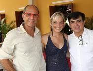 Mano Alencar, Paola Braga e Jaime Paula Pessoa