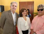 Luis Aldo, Monica Goyana e Carlos Benevides