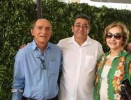 Luis Cancio, Alipio Rodrigues e Lucia Brand�o