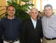 Lercio Lucena, Pio Rolim e Emilio Recamondi