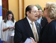 Mauro Benevides e Estela Rolim