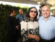 Nailde Pinheiro e Roberto Claudio