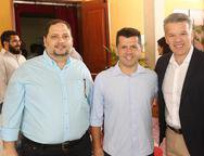 Reinaldo Salmito, Erick Vasconcelos e Ferruccio Feitosa