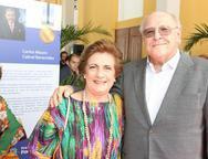 Regina Arag�o e Luis Marques