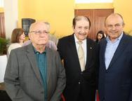 Aloisio Ramalho, Mauro Benevides e Honorio Pinheiro