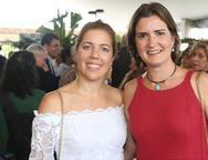 Ticiana Rolim e Manuella Nogueira
