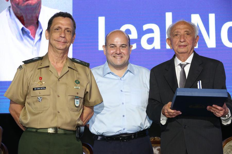 Cel Cunha Mattos, Roberto Claudio e Jose Otho