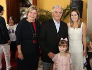 Estela, Pio, Paula e Luisa Rolim