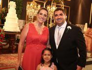 Fabaiana, Maria Izabela e Cleiton Aguiar