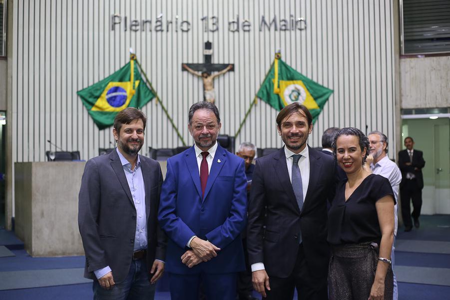 Erick Guimaraes, Acrisio Sena, Guilherme Sampaio e Ana Nadaf