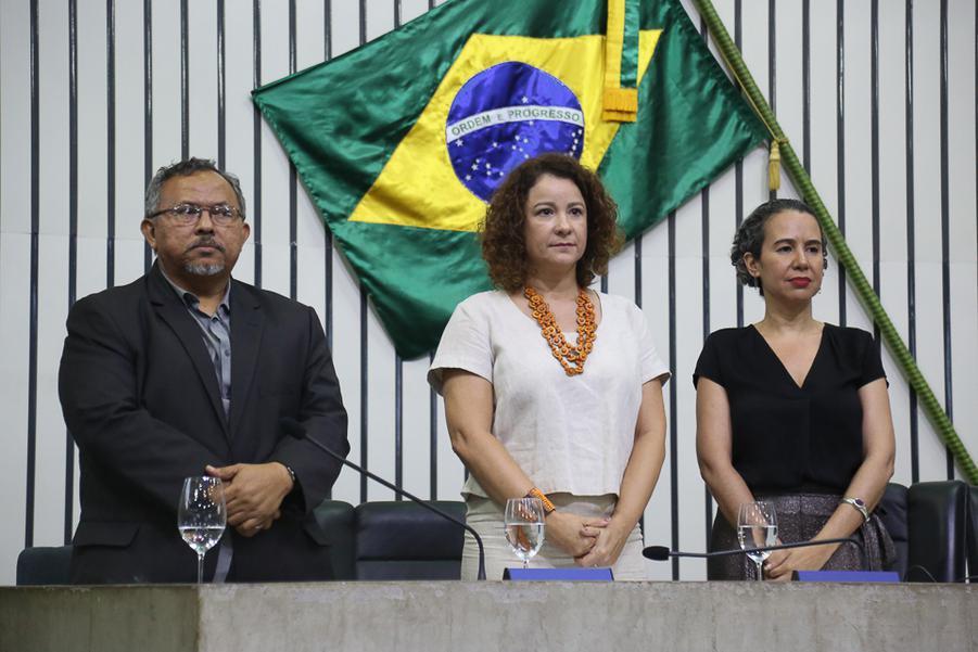 Gilvan Paiva, Cinthya Medeiros e Ana Nadaf