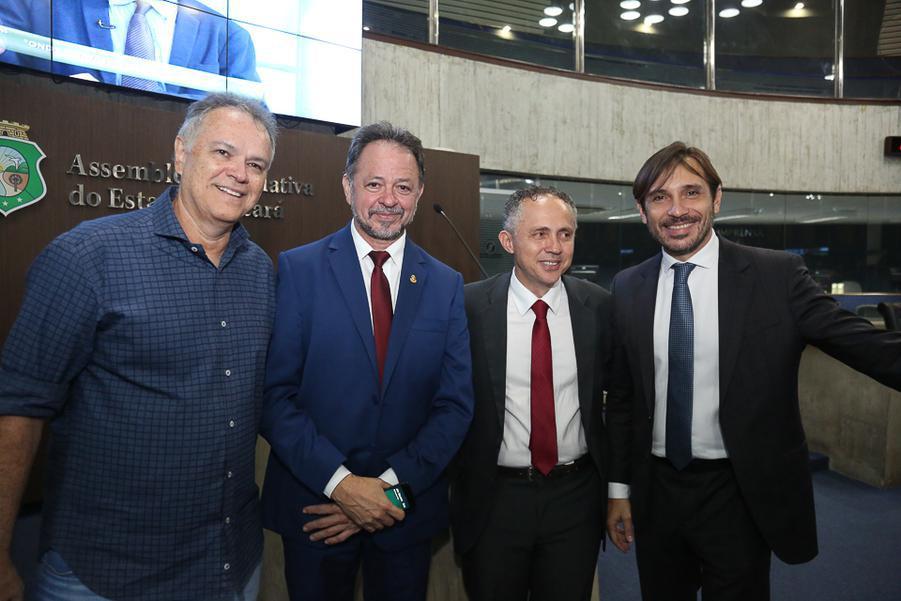 Woney Oliveira, Acrisio Sena, Evaldo Lima e Guilherme Sampaio