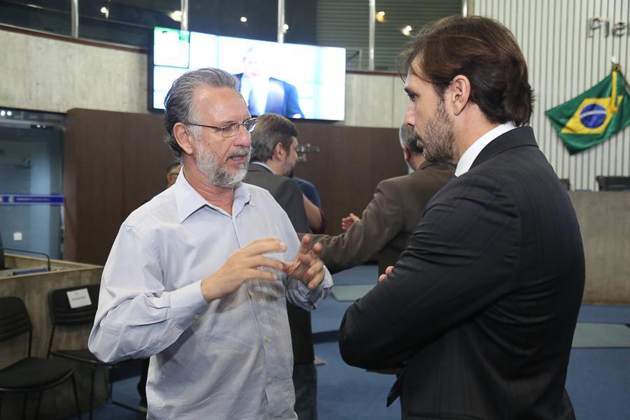 Plinho Bortolotti e Guilherme Sampaio
