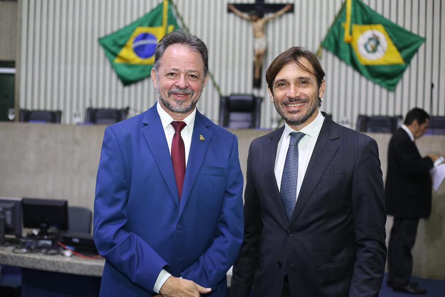 Acrisio Sena e Guilherme Sampaio
