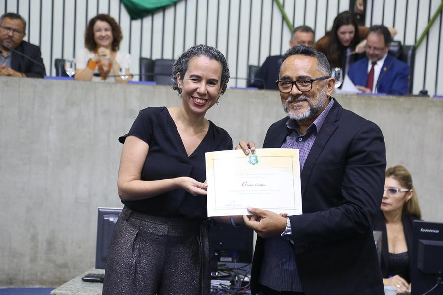 Ana Nadaf e Carlos Campos