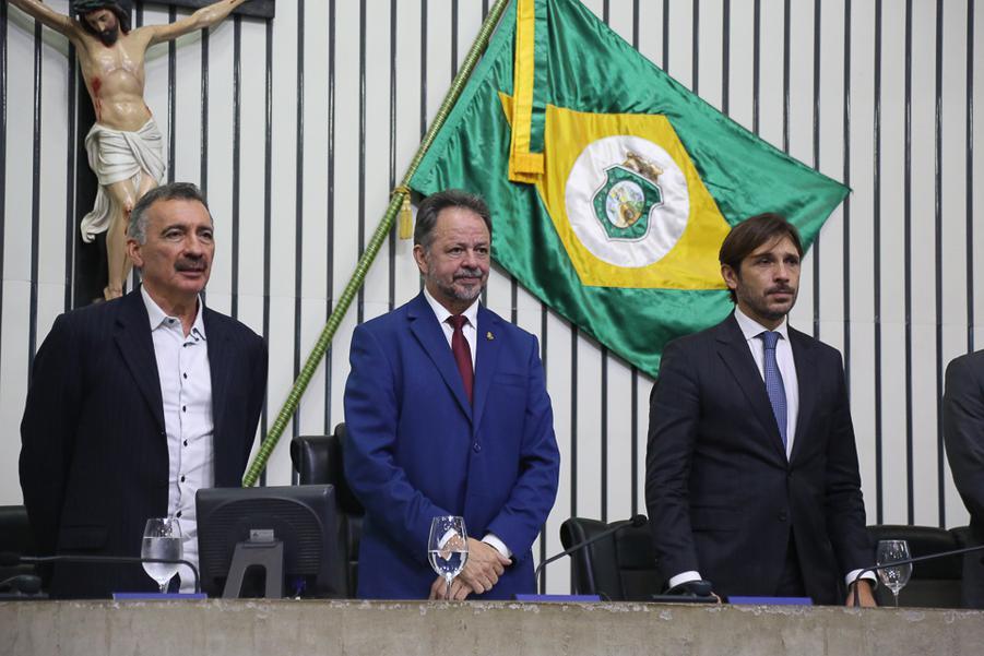 Artur Bruno, Acrisio Sena e Guilherme Sampaio