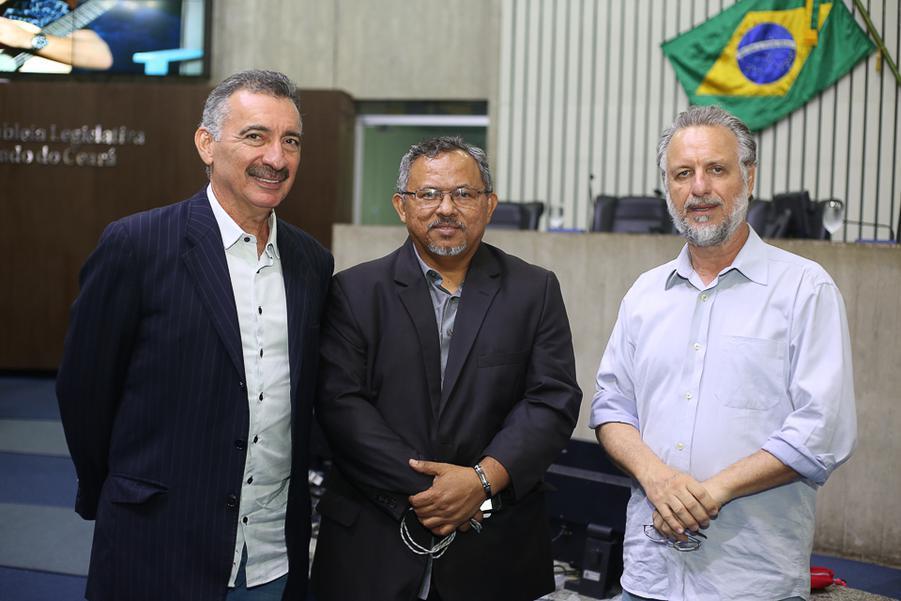 Artur Bruno, Gilvan Paina e Pl¡nio Bortolotti
