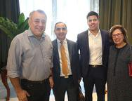 Adalto Junior Bezerra , Ricardo Ventura, Tito Bezerra e Cibeli Marinello
