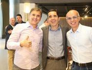 Alexandre Matos, Julio Saraiva e Rociman Cavalcante