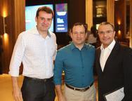 Fernando Gurgel, Igor Barroso e Daniel Demetrio