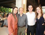 Liana, Nizabro, Thiago e Rataela Fujita