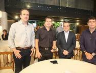 Lucca, Claudio Dias, Marcelo e Ricardo Ramos
