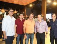 Marcelo Castro, Fabio Pinheiro, Adalberto Machado, Luciano Montenegro e Odecio Tomaz