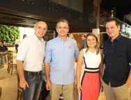 Rociman Cavalcante, Jurandir Magalhaes, Marcia Zanoy]telli e Claudio Moureira