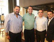 Patrioliono Dias, Joao Jorge Cavalcante, Germano Belchior e Germano Albuquerque