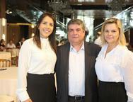 Sara Oliveira, Gustavo Pinheiro e Rose Sarayva