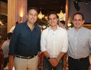 Rodrigo Jereissati, Joao Nelson e Lucio Vasconcelos