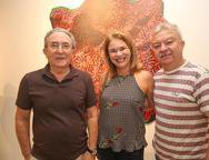Aroudo Moraes, Marcia Matos e Savio Feitosa