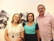 Ana Eugenia Cavalcante, Silvina Sacker e Alexandre Sampaio